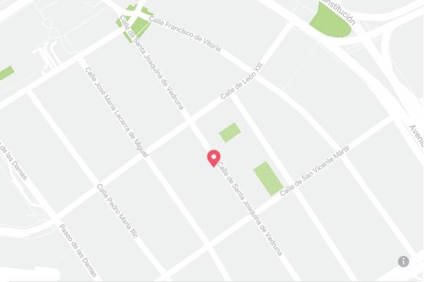 dirección de clínica dental Iglesias Ruiz en Zaragoza